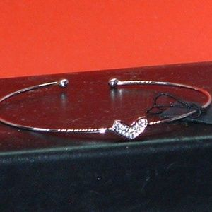 Women's Dianne Katzman Thin Heart Bracelet